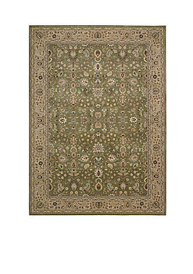 "Antiquities Sage Area Rug 53"" x 53"""