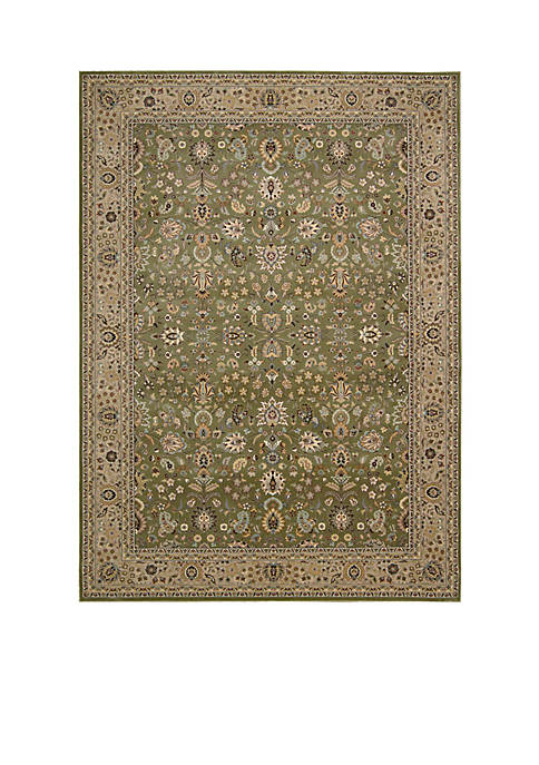 "Antiquities Sage Area Rug 710"" x 710"""