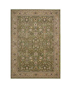 "Antiquities Sage Area Rug 132"" x 910"""