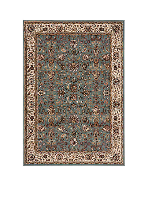 "Nourison Antiquities Slate Blue Area Rug 59"" x"