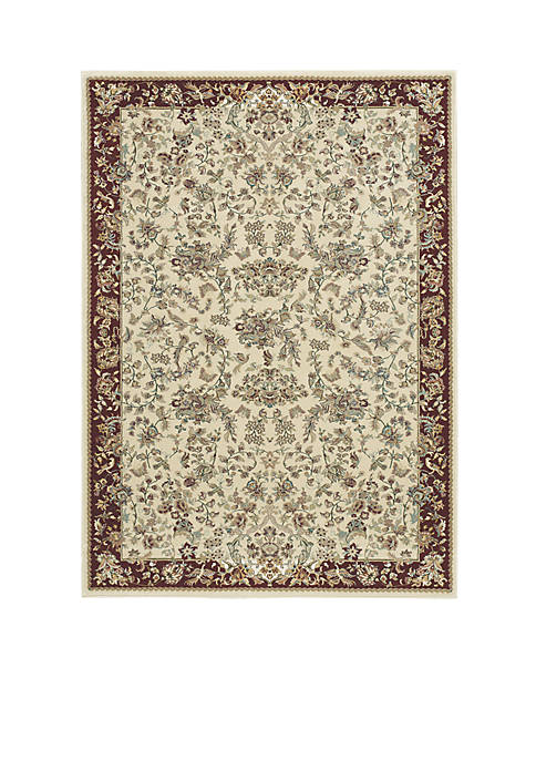 "Nourison Antiquities Ivory Area Rug 22"" x 76"""