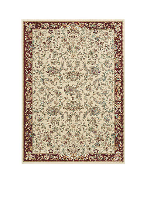 "Nourison Antiquities Ivory Area Rug 39"" x 59"""