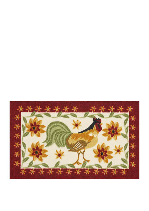 18 in x 30 in Rooster Accent Rug