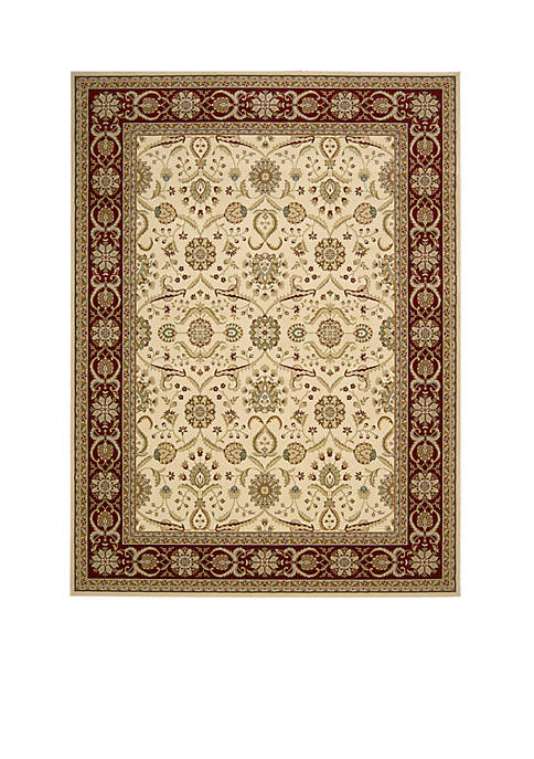 Nourison Persian Crown Cream Area Rug