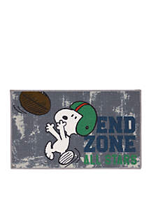 Snoopy™ End Zone Rug
