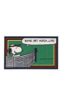 Peanuts™ Game, Set, Match Rug