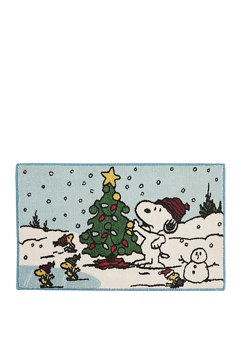 Nourison Snoopy Tree Accent Rug