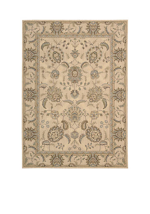 Persian Empire Ivory Area Rug 8 x 23""