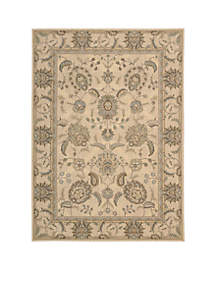 Persian Empire Ivory Area Rug 8' x 2'3\