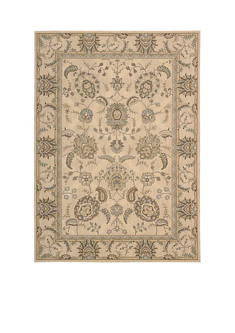 "Persian Empire Ivory Area Rug 56"" x 36"""