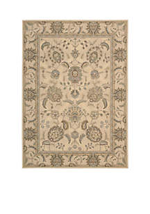 Persian Empire Ivory Area Rug 7'5\