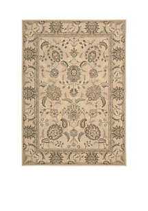Persian Empire Ivory Area Rug 10'10\