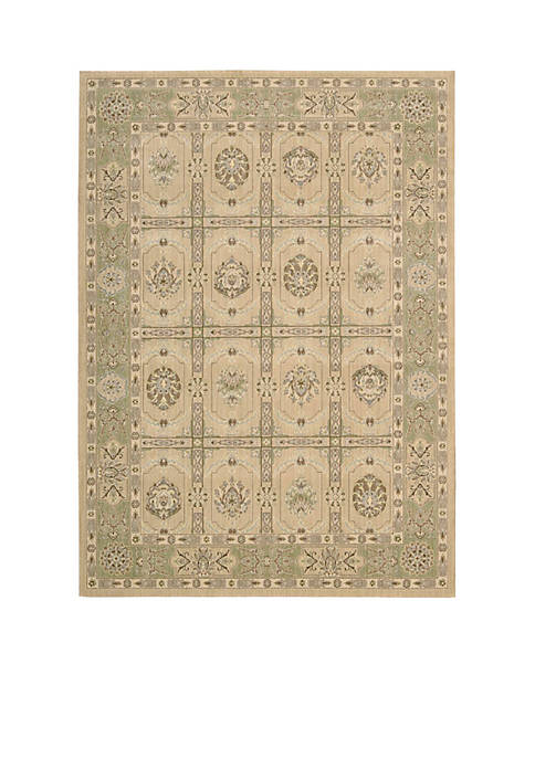 "Nourison Persian Empire Sand Area Rug 29"" x"