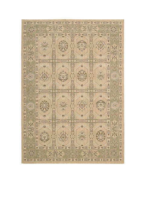 Persian Empire Sand Area Rug 8 x 23""