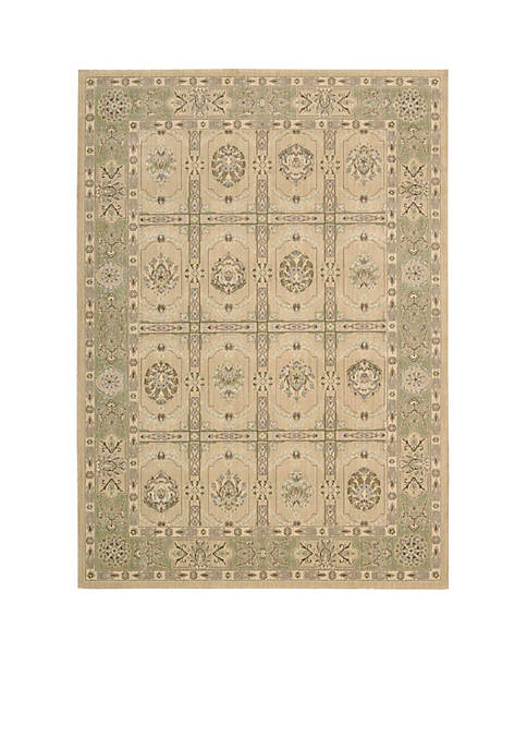 "Persian Empire Sand Area Rug 56"" x 36"""