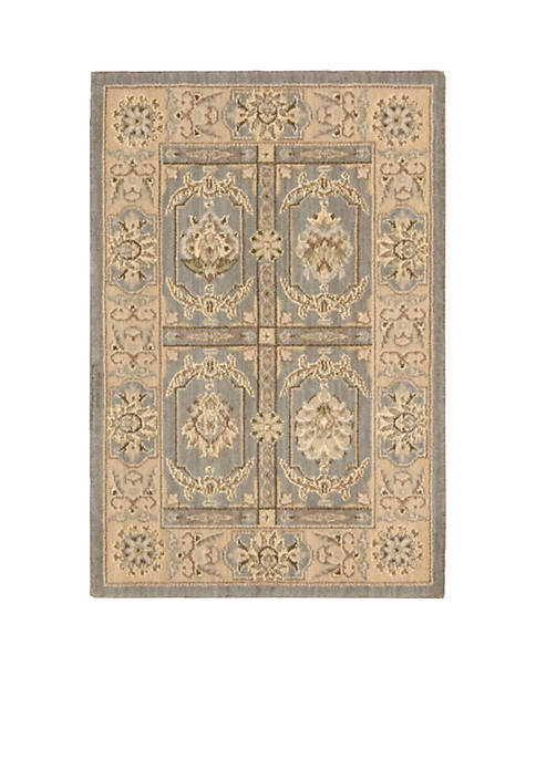 "Nourison Persian Empire Slate Area Rug 29"" x"