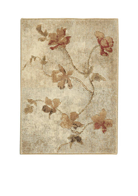 "Nourison Somerset Tan Area Rug 29"" x 2"