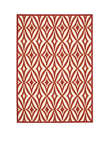 Sun n? Shade Indoor/Outdoor  Centro Campari Area Rugs - Online Only