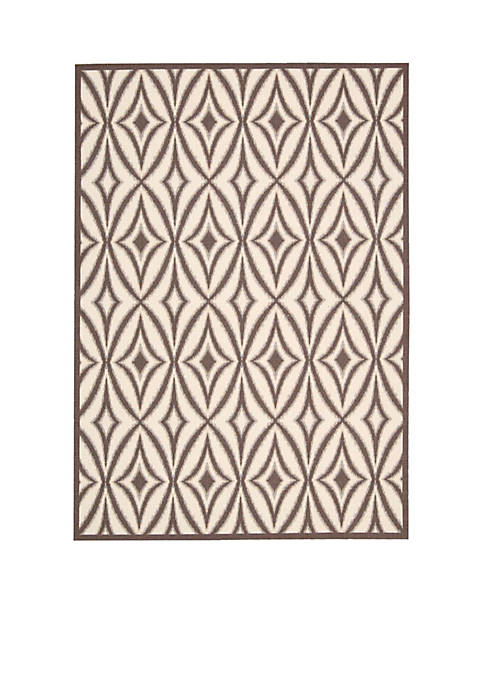 "Centro Flint Area Rug Collection 79"" x 1010"""