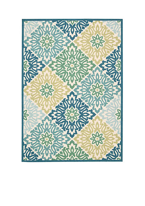 Sun n Shade Indoor/Outdoor Sweet Things Marine Area Rugs - Online Only