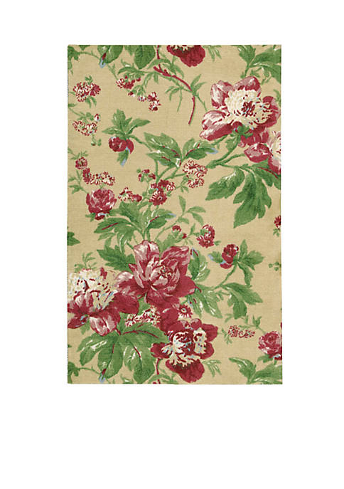 Artisanal Delight Forever Yours Buttercup Area Rug 26""