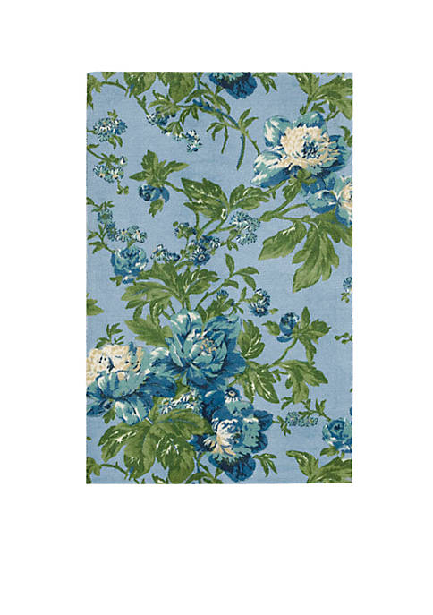 Artisanal Delight Forever Yours Sky Area Rug 8 x 10