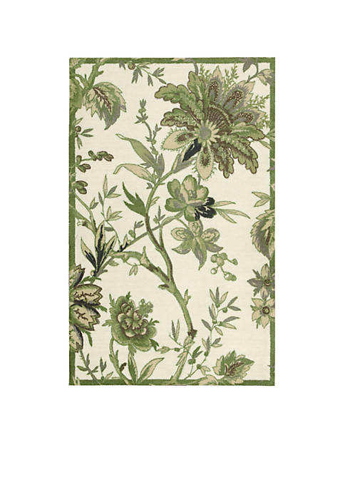Artisanal Delight Felicite Leaf Area Rug 8 x 10