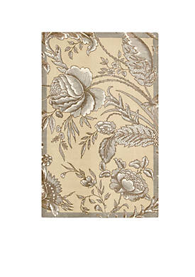 Artisanal Delight Fanciful Ironstone Area Rug