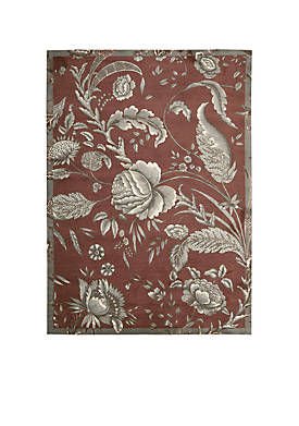 Artisanal Delight Fanciful Russet Area Rug