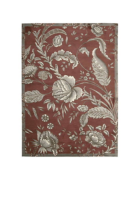 Nourison Artisanal Delight Fanciful Russet Area Rug