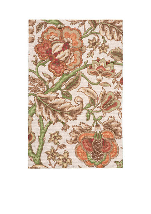 Global Awakening Imperial Dress Pear Area Rug 8 x 10
