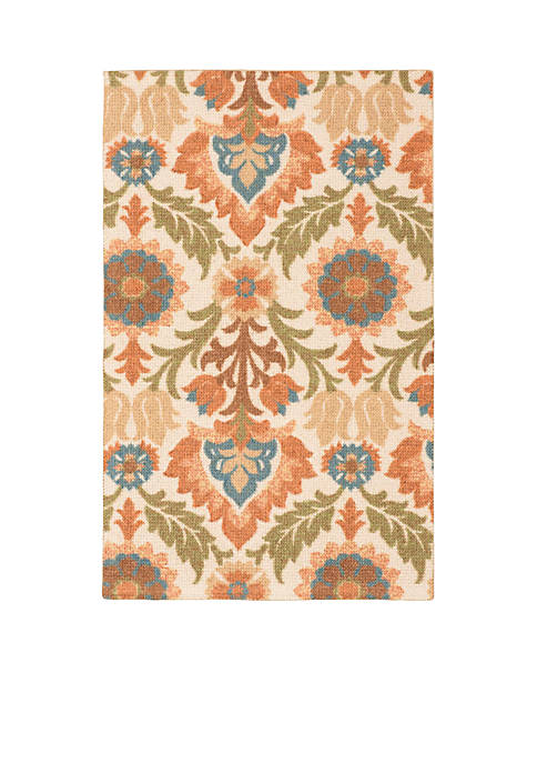 Global Awakening Santa Maria Pear Area Rug 8