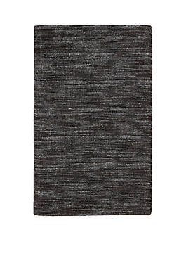 "Grand Suite Ottoman Charcoal Area Rug 23"" x 39"""