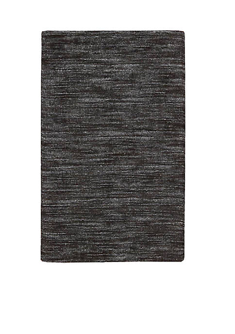 Nourison Grand Suite Ottoman Charcoal Area Rug 23""