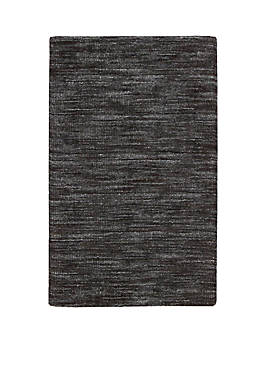Grand Suite Ottoman Charcoal Area Rug 5 x 76""