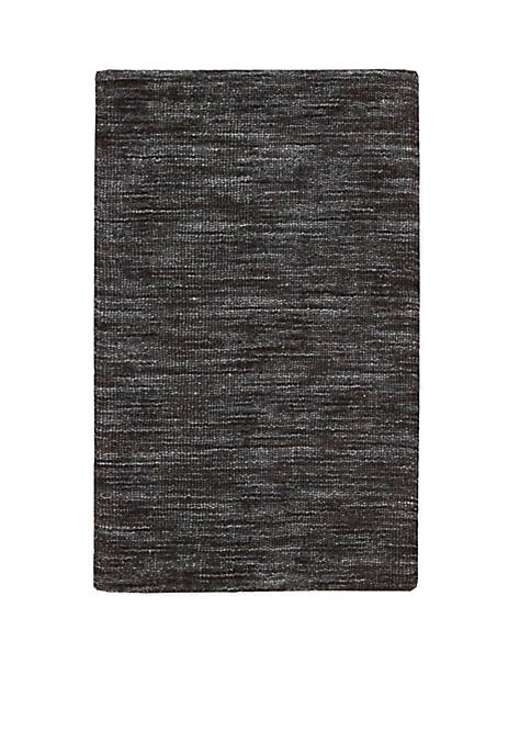 Grand Suite Ottoman Charcoal Area Rug 5 x