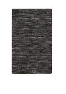 Nourison Grand Suite Ottoman Charcoal Area Rug 5' x 7'6