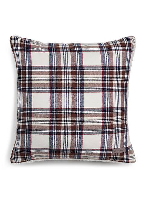 Eddie Bauer Edgewood Plaid Throw Pillow