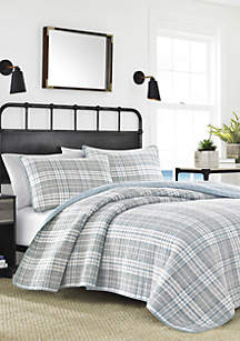 Millbrook Plaid Quilt Set