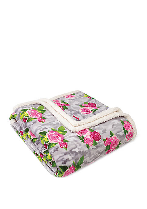 Betsey Johnson Camouflage Floral Bedding Collection