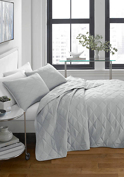 CITY SCENE® Checker Stitch Bedding Collection