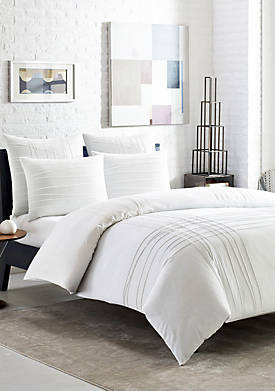 Variegated Pleats Duvet Set