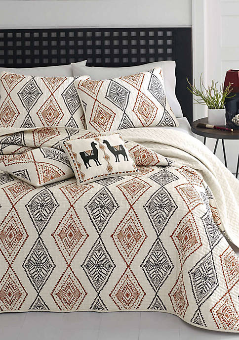 Cusco Rhombus Quilt Set