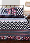 Kilim Stripe Quilt Set