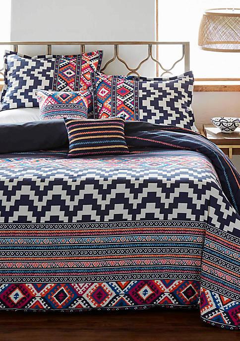 Azalea Skye Kilim Stripe Comforter Set