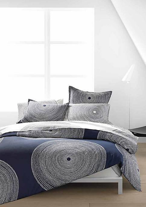 Marimekko Fokus Navy Duvet Cover Set