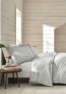 Marimekko Fokus Gray Duvet Cover Set