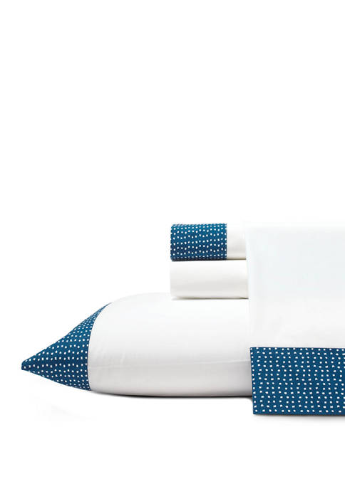 Novogratz Demi Dot Cotton Sheet Set