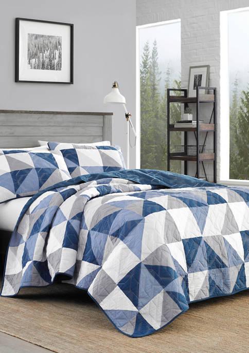 Eddie Bauer North Cove Cotton Quilt Set