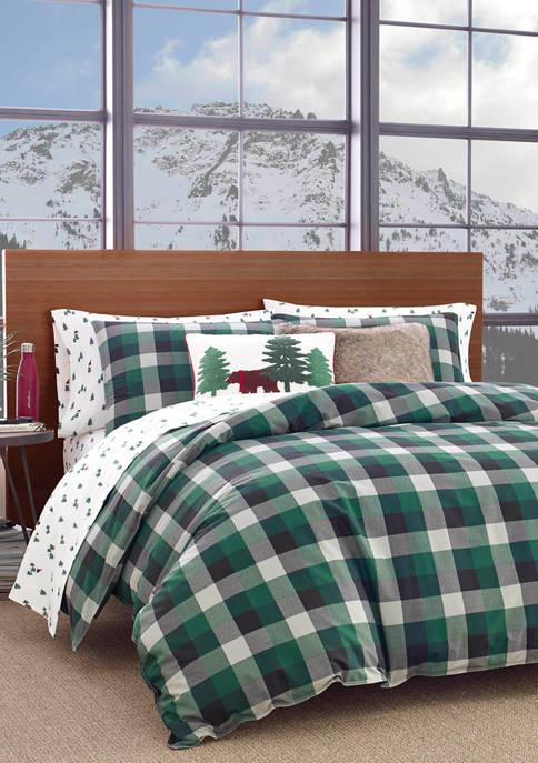 Eddie Bauer Birch Cove Plaid Comforter Set